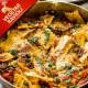 Ravioli Vegetar med blandet grøntsager, trøffelsovs og parmesan ost